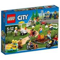 Lego City Развлечения в парке для жителей города / Fun in the park
