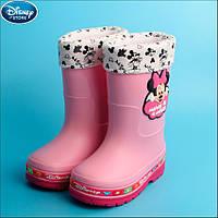 Резиновые сапоги Disney Minnie Mouse Pink