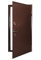 Наружные  входные двери Кристаллит метал/МДФ Арка эконом