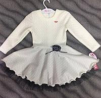 Нарядное платье для девочек 104-134 см