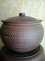 Горшок-супник с горлышком, 3 литра