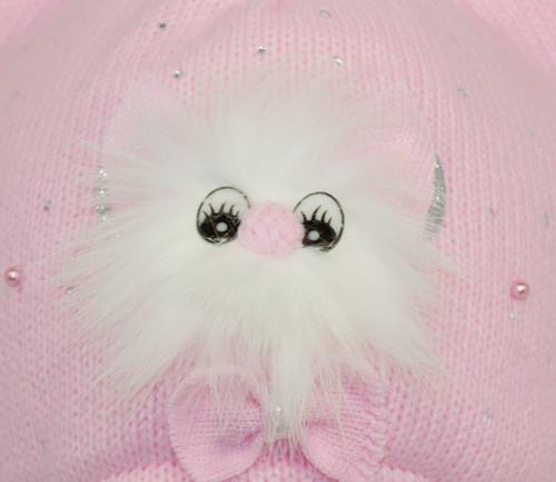 Фурнитура на детской вязаной шапке