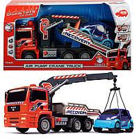 Автомобиль Эвакуатор с воздушной помпой Dickie Toys 3806000