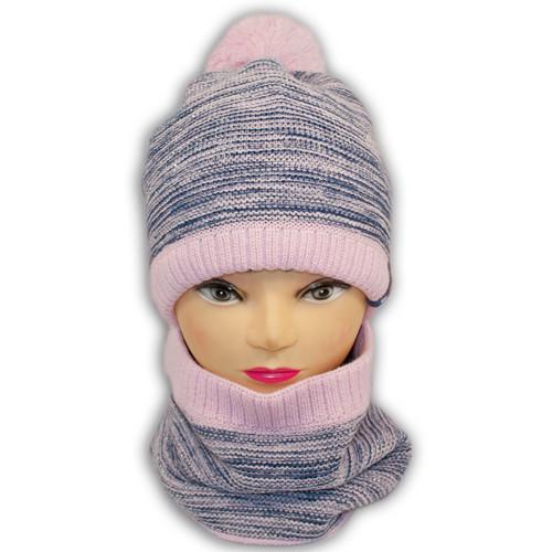 Шапка и шарф хомуи для девочки
