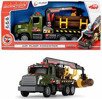 Автомобиль Лесовоз с воздушной помпой Dickie Toys 3806001