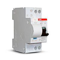 Дифференциальный автомат ABB DS 951 2P С 40А 30мА AC, фото 1