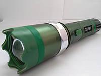 Электрошокер фонарь Police ZZ-T10,  20000KV - зум, три режима свечения
