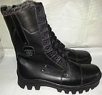 Берци мужские новые кожаные зимние р40-46