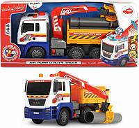 Автомобиль Грузовой с воздушной помпой Dickie Toys 3809005