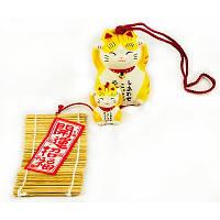 Колокольчики манеки-неко «На счастье и удачу», фото 1