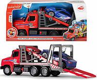 Автотранспортер с воздушной помпой Dickie Toys 3809010