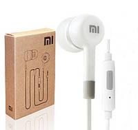 Гарнитура, наушники Xiaomi Piston 2 с микрофоном и кнопкой разъем 3.5мм БЕЛАЯ SKU0000378