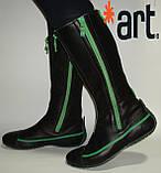Сапоги кожаные высокие ART, фото 2