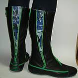Сапоги кожаные высокие ART, фото 5