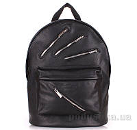 Кожаный рюкзак Poolparty Rockstar Backpack rockstar black