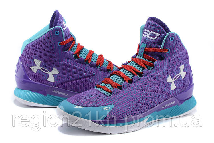 Баскетбольные кроссовки Under Armour Curry One Custom Purple Month
