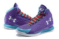 Баскетбольные кроссовки Under Armour Curry One Custom Purple Month, фото 1