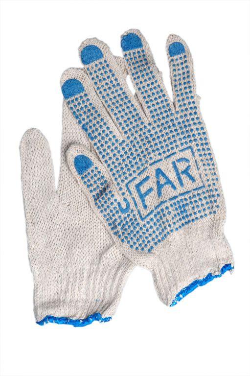 Перчатки трикотажные с ПВХ покрытием (ладонь)