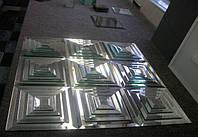 Плитка декоративная ПФС (4 элемента ) 200*200мм, фацет 15мм