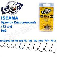 Крючок Goss Iseama Классический (12шт) 10071 BN № 6