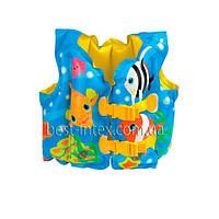 Надувной жилет Рыбки Intex 59661