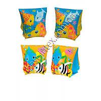 Нарукавники Тропические рыбки Intex 58652