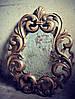 Рама зеркала из дерева - ручная резьба