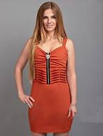 Женское трикотажное платье №300 разные цвета