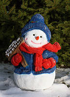 Снеговик с табличкой 43см, фото 1