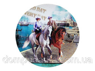 Фарфоровое блюдо посуда с лошадью купить в Харькове недорого