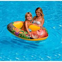 Детская надувная Лодка в стиле Disney - Король Лев Intex 58385 (119х79 см.)