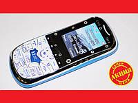 "Телефон Donod C113 White - 1.8"" -2Sim +ЧЕХОЛ"