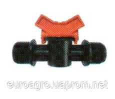 """Кран с наружной резьбой для пластиковой трубы 1/2""""x1/2"""", фото 2"""