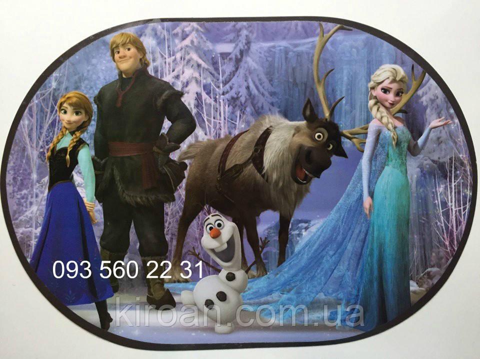 Детская салфетка-подложка на стол под тарелки и для детского творчества (Холодное сердце) 06028