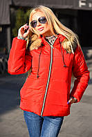 Зимняя куртка -пуховик короткая