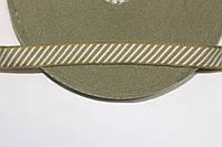 ТЖ 20мм (50м) оливка+белый, фото 1