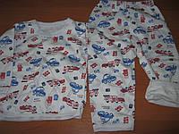 Детские пижамки на байке Тачки для мальчиков  0-6   мес  Турция