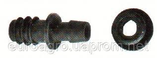 Стартер для капельной трубки с уплотнительной резинкой Dn 16x8, фото 2