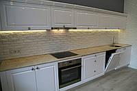 Столешница на кухню из мрамора Cappuccino