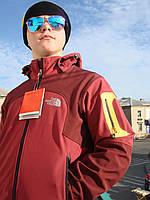 Лыжная мембранная куртка Windstopper The Norht Face замки прорезиненные ветронепродуваемая водоотталкивающая