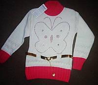 Красивая модная  туника  свитерок  для девочки 136р Турция