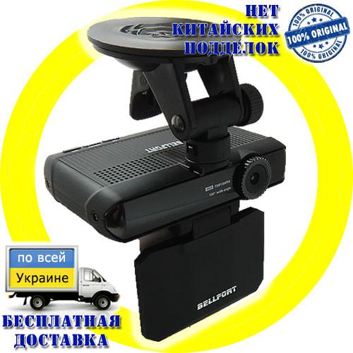 Bellfort VR37 Tirex - 2в1 регистратор с GPS + радар-детектор