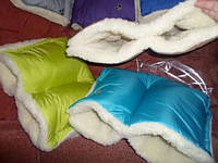 Муфта для коляски и на санки зимняя на овчине , фото 1