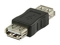 Переходник USB AF (мама) - AF (мама)