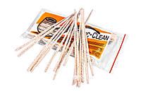 Ерши для чистки трубок 100 шт. мягкие, белые, Atomic