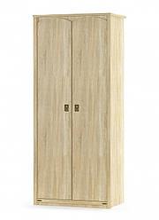 """Шкаф 2Д """"Валенсия"""" от Мебель-сервис (Дуб самоа)"""