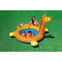 Intex 57434 (208х165х122 см.) Надувной детский бассейн