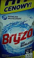 Стиральный порошок Bryza для белого 7.7 кг. 81 стирка.