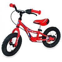 Беговел Alexis Baby Mix надувные колеса красный