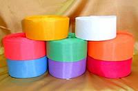 Лента шелковая (цвета - в ассортименте) ширина 5 см